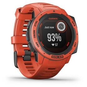 Garmin Instinct Solar GPS Smartwatch red